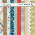 Coastal Craze Papers by LJS Designs
