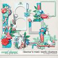 Doctor's Visit:Teeth Clusters by Meagan's Creations