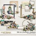 Life is a Journey: Clusters by Meagan's Creations
