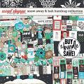 Snow Away & Bah Humbug Collection by Erica Zane