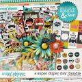 A SUPER DUPER DAY | BUNDLE by The Nifty Pixel