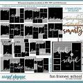 Cindy's Layered Templates - Fun Frames: School by Cindy Schneider