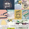 A Winding Road Cards by JoCee Designs and The Nifty Pixel