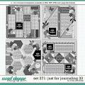 Cindy's Layered Templates - Set 271: Just for Journaling 33 by Cindy Schneider
