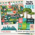 50 States: Georgia Bundle by Kelly Bangs Creative