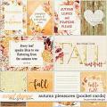 Autumn Pleasures Pocket Cards by Ponytails