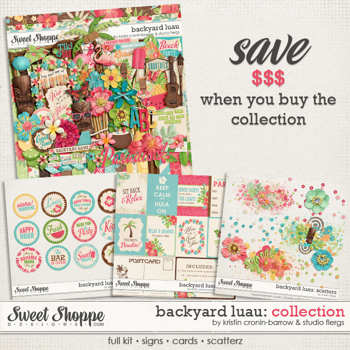 Backyard Luau: COLLECTION by Kristin Cronin-Barrow & Studio Flergs