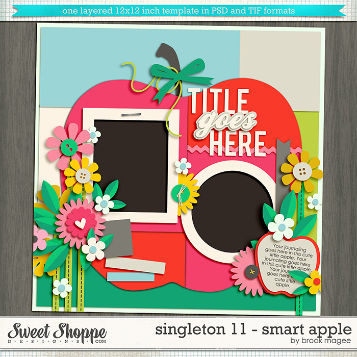 Brook's Templates - Singleton 11 - Smart Apple  by Brook Magee
