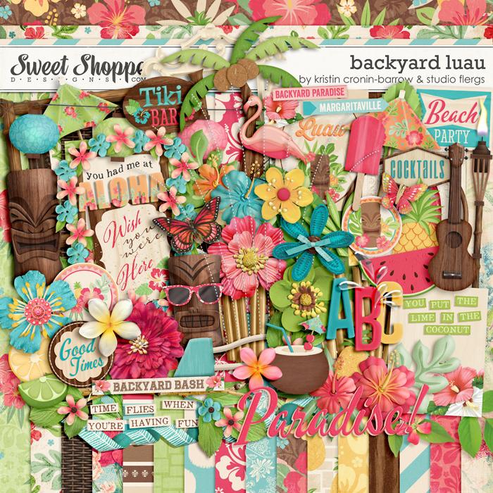 Backyard Luau by Kristin Cronin-Barrow & Studio Flergs