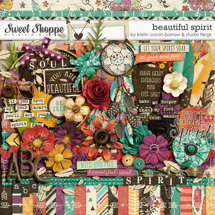 Beautiful Spirit by Kristin Cronin-Barrow & Studio Flergs