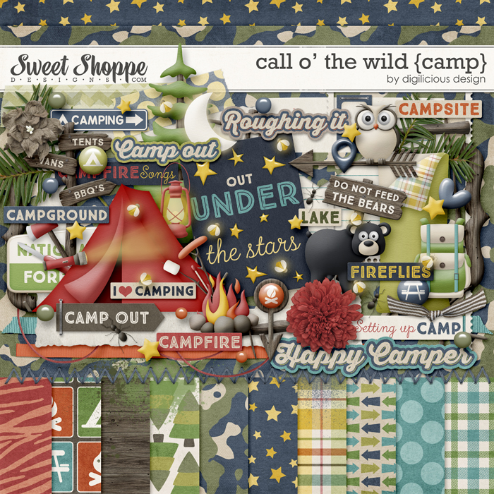 Call O' The Wild {Camp} by Digilicious Design
