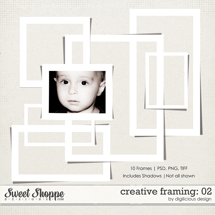 Creative Framing Vol 02 by Digilicious Design