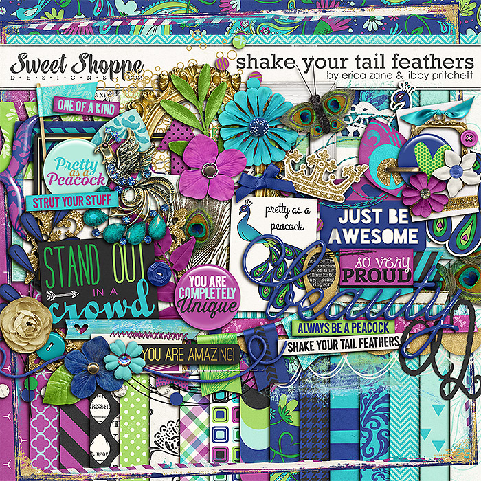 Shake Your Tail Feathers by Libby Pritchett & Erica Zane