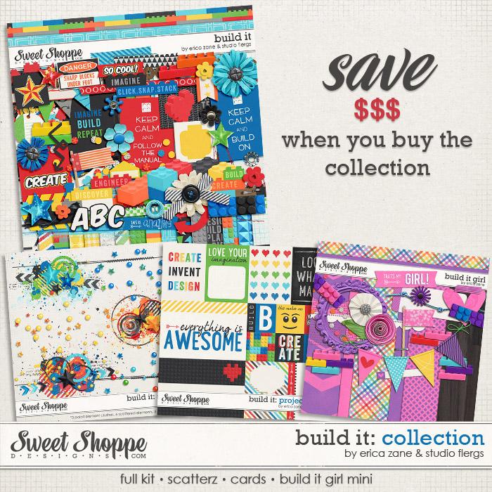 Build It: Collection by Erica Zane & Studio Flergs