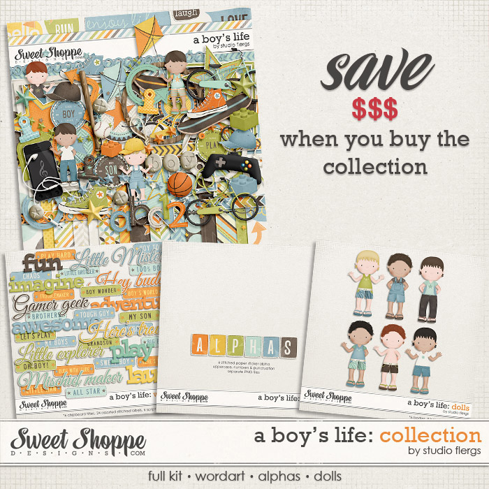 A Boy's Life: COLLECTION by Studio Flergs