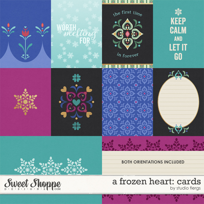 A Frozen Heart: CARDS by Studio Flergs