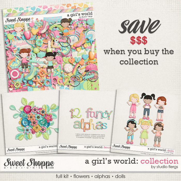 A Girl's World: COLLECTION by Studio Flergs