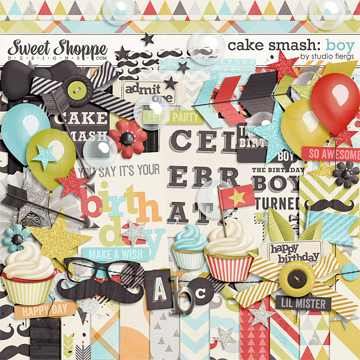 Cake Smash: BOY by Studio Flergs