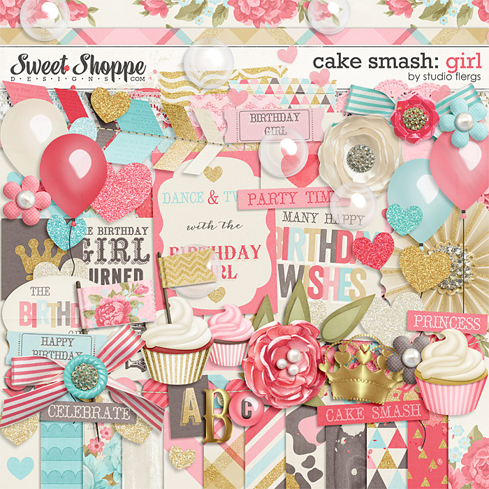 Cake Smash: GIRL by Studio Flergs