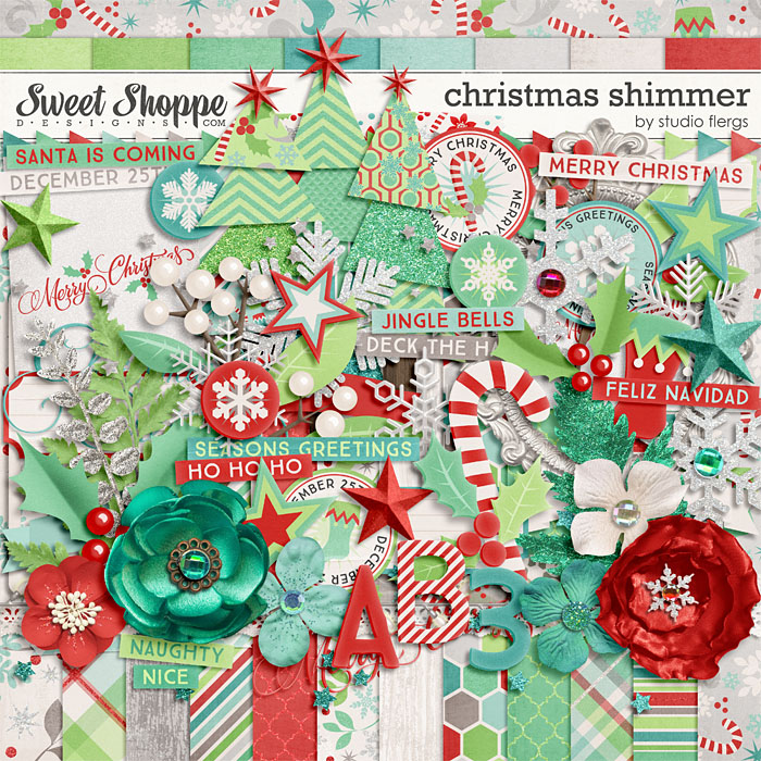Christmas Shimmer by Studio Flergs
