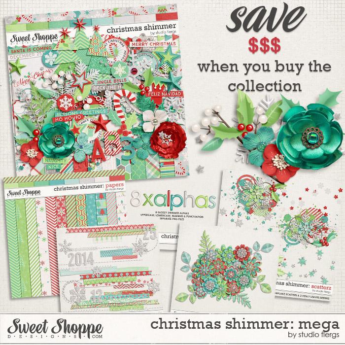 Christmas Shimmer: MEGA COLLECTION by Studio Flergs