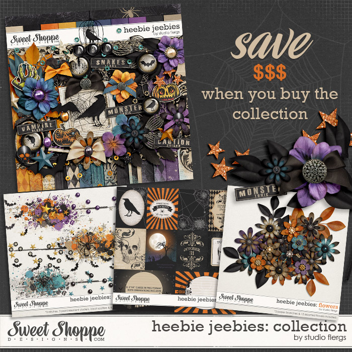 Heebie Jeebies: COLLECTION by Studio Flergs