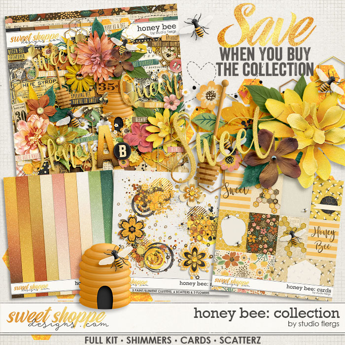 Honey Bee: COLLECTION & *FWP* by Studio Flergs
