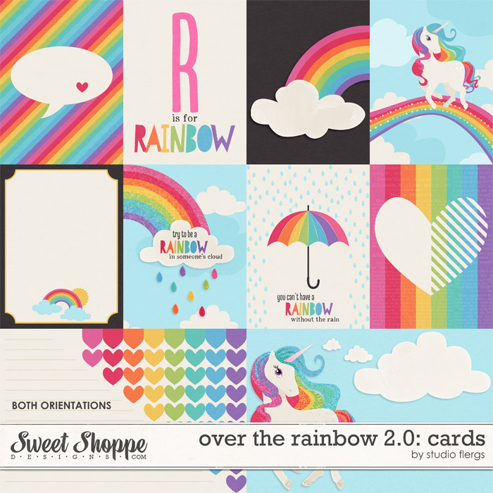 Over the Rainbow 2.0: CARDS by Studio Flergs