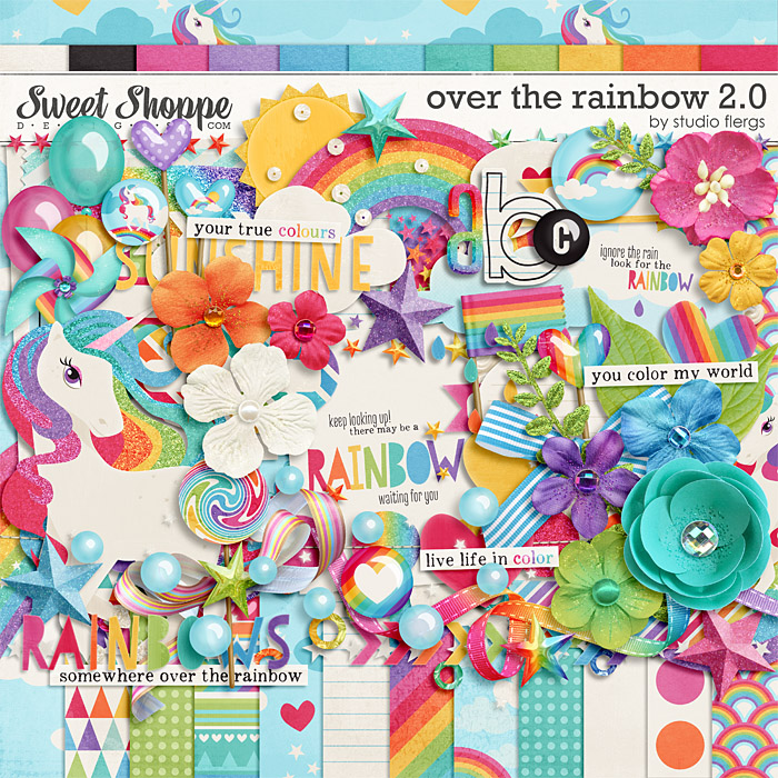 Over the Rainbow 2.0: by Studio Flergs