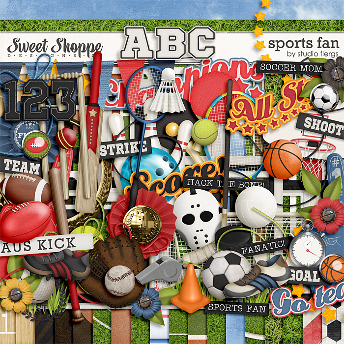 Sports Fan by Studio Flergs
