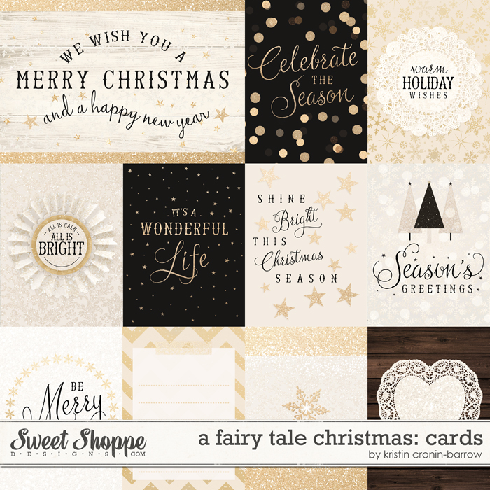 A Fairy Tale Christmas: Cards by Kristin Cronin-Barrow
