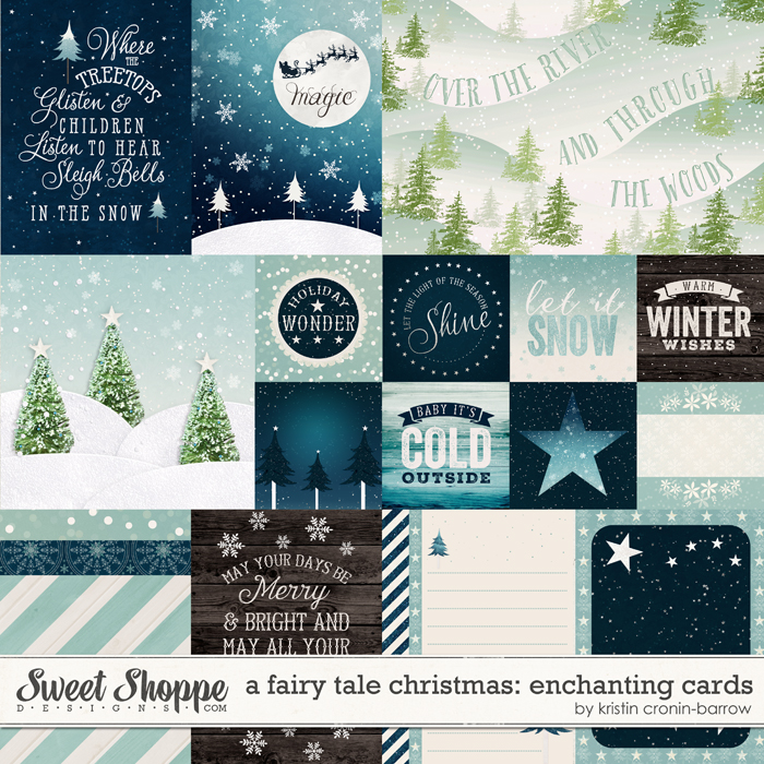 A Fairy Tale Christmas: Enchanting Cards by Kristin Cronin-Barrow
