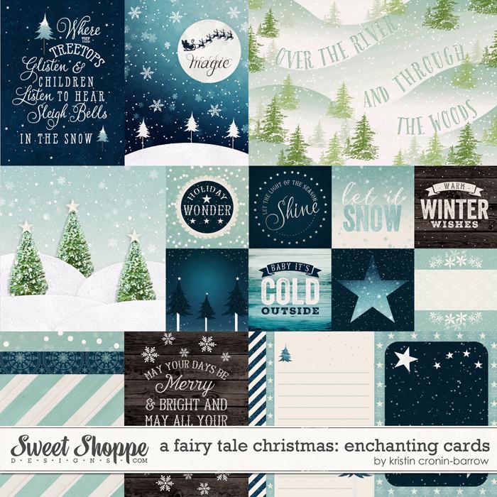 A Fairy Tale Christmas: Enchanting Cards by Kristin Cronin-Barrow