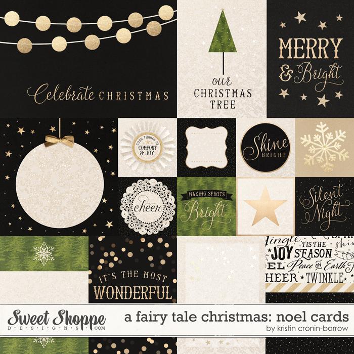 A Fairy Tale Christmas: Noel Cards by Kristin Cronin-Barrow