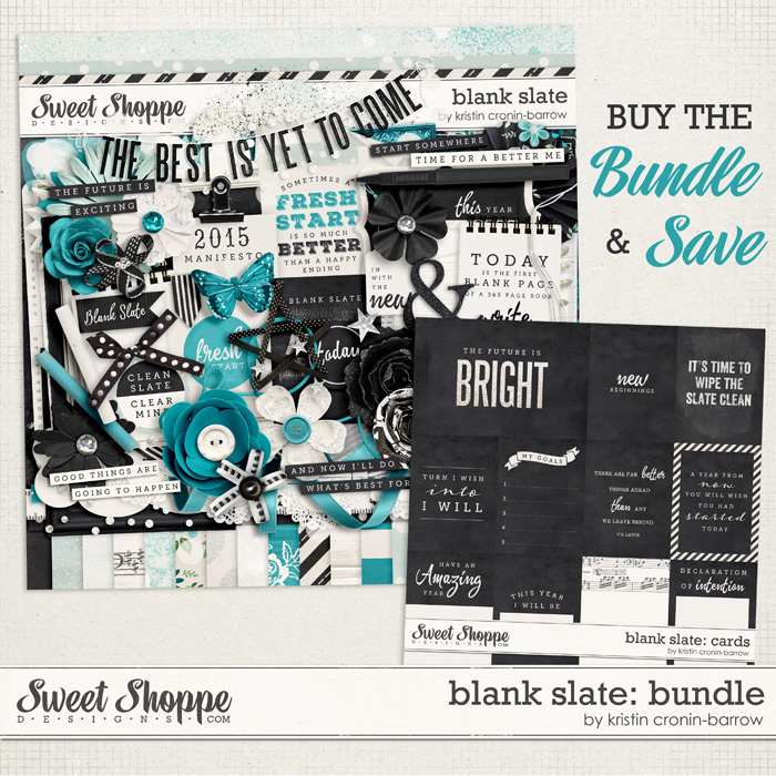 Blank Slate: Bundle by Kristin Cronin-Barrow