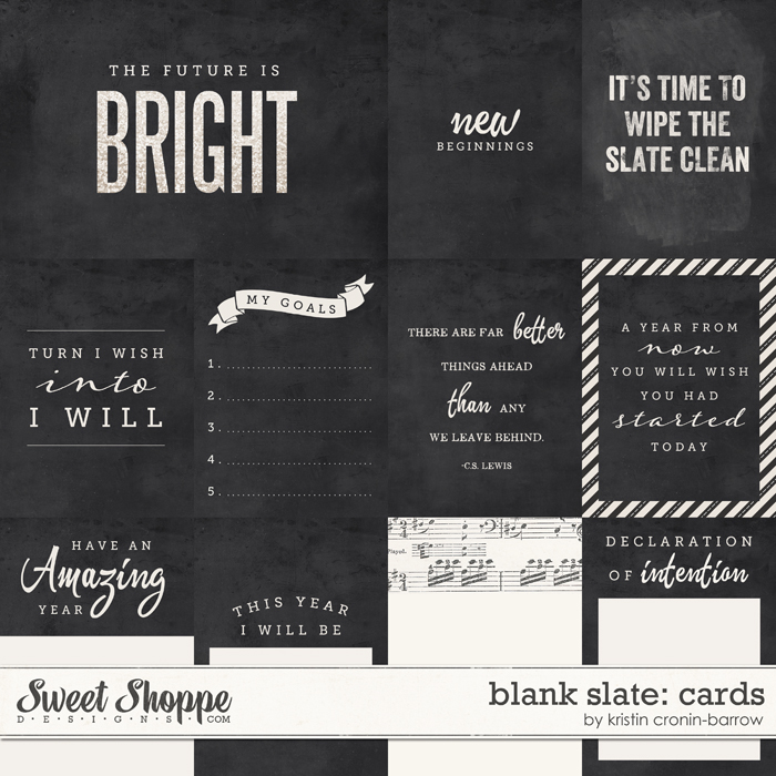 Blank Slate: Cards by Kristin Cronin-Barrow