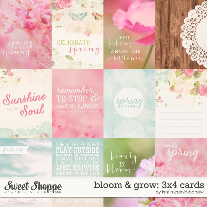 Bloom & Grow 3x4 Cards by Kristin Cronin-Barrow