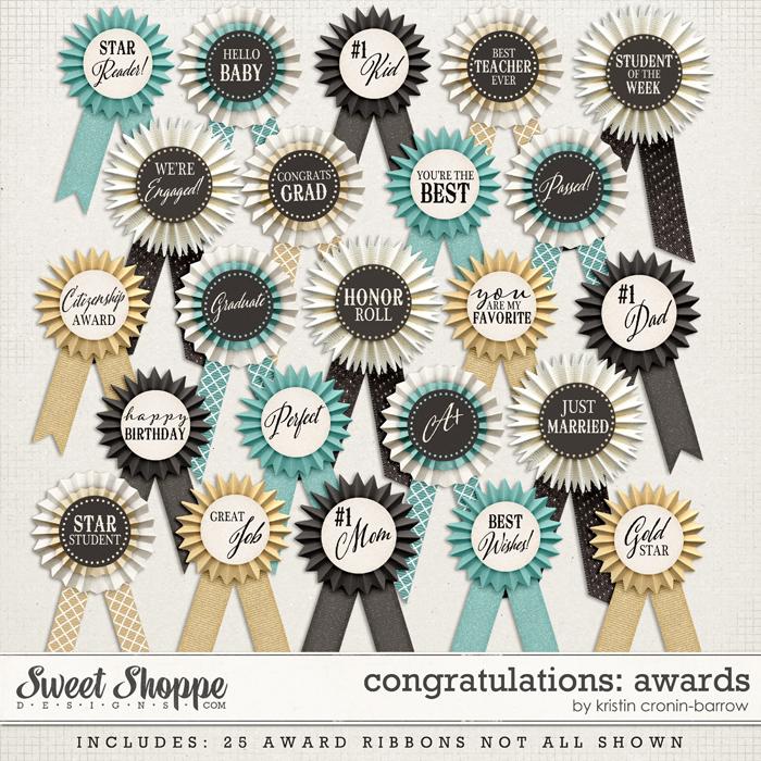 Congratulations: Awards by Kristin Cronin-Barrow