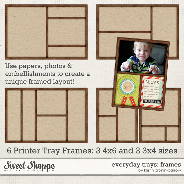 Everyday Trays: Frames by Kristin Cronin-Barrow