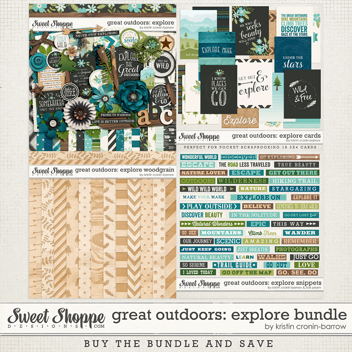 Great Outdoors: Explore Bundle by Kristin Cronin-Barrow