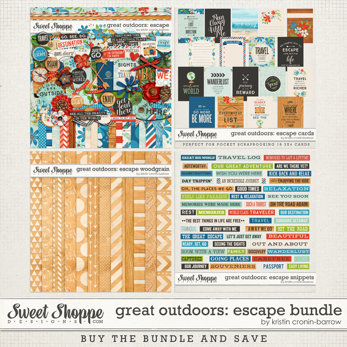 Great Outdoors: Escape Bundle by Kristin Cronin-Barrow