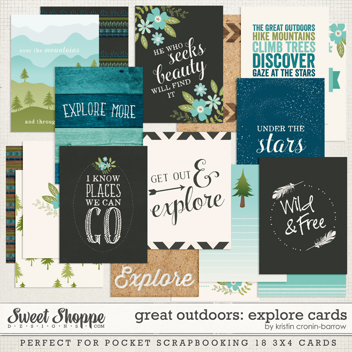 Great Outdoors: Explore Cards by Kristin Cronin-Barrow