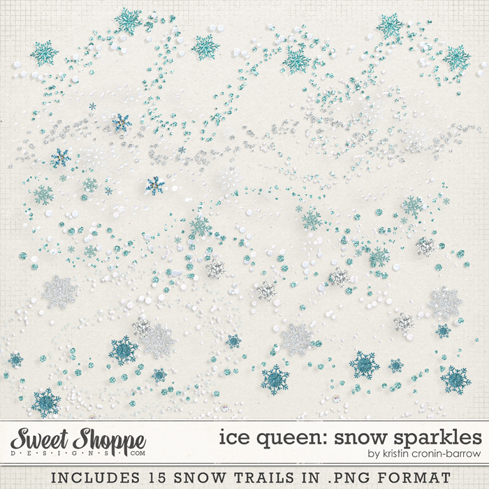 Ice Queen: Snow Sparkles by Kristin Cronin-Barrow