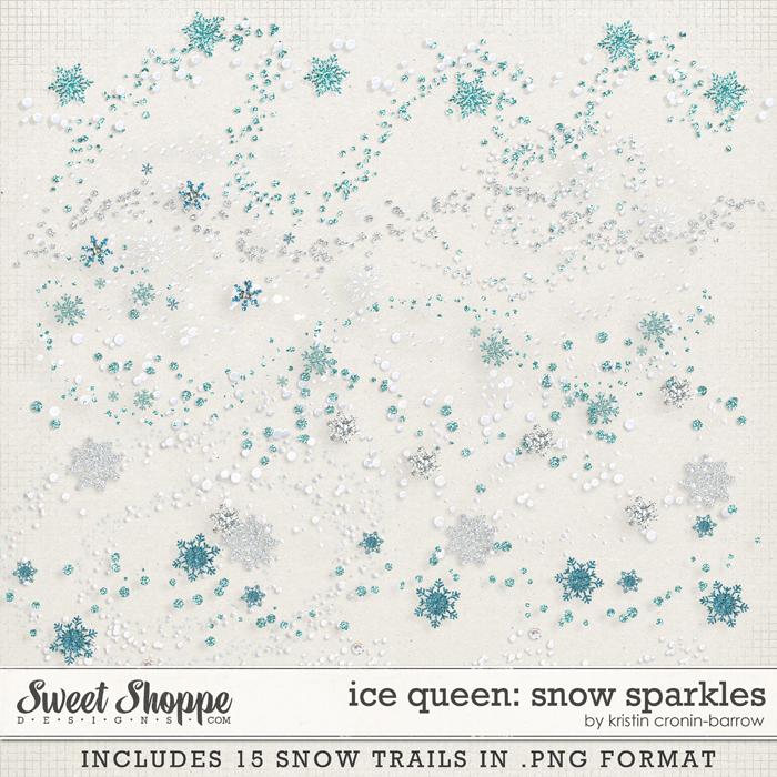 Ice Queen: Snow Sparkles by Kristin Cronin-Barrow