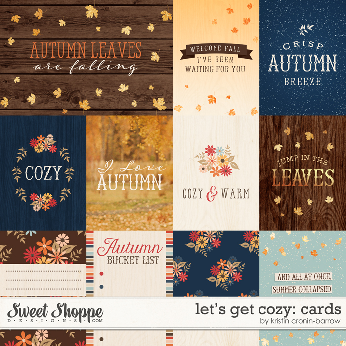 Let's Get Cozy: Cards by Kristin Cronin-Barrow