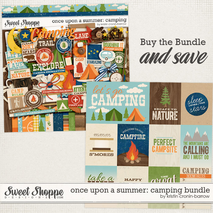 Once Upon a Summer: 2. Camping Bundle by Kristin Cronin-Barrow
