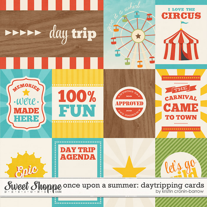 Once Upon a Summer: 4. Daytripping Cards by Kristin Cronin-Barrow