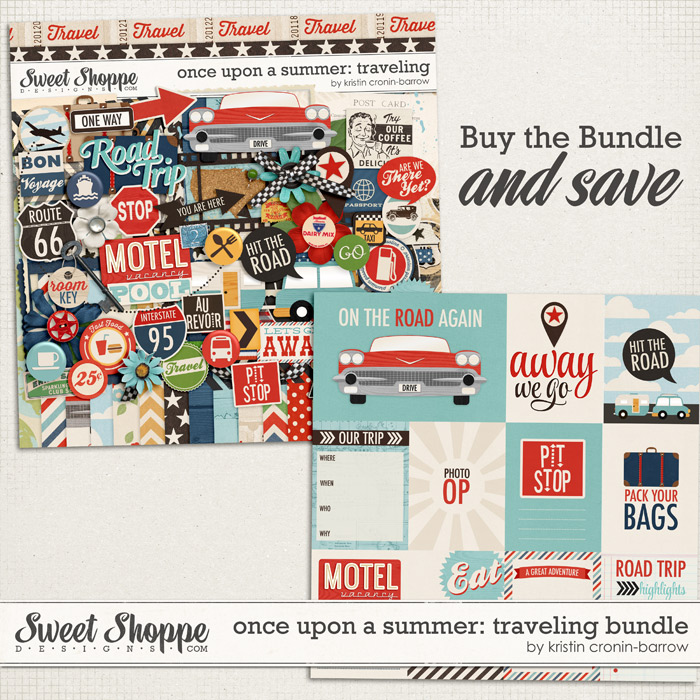 Once Upon a Summer: 1. Traveling Bundle by Kristin Cronin-Barrow
