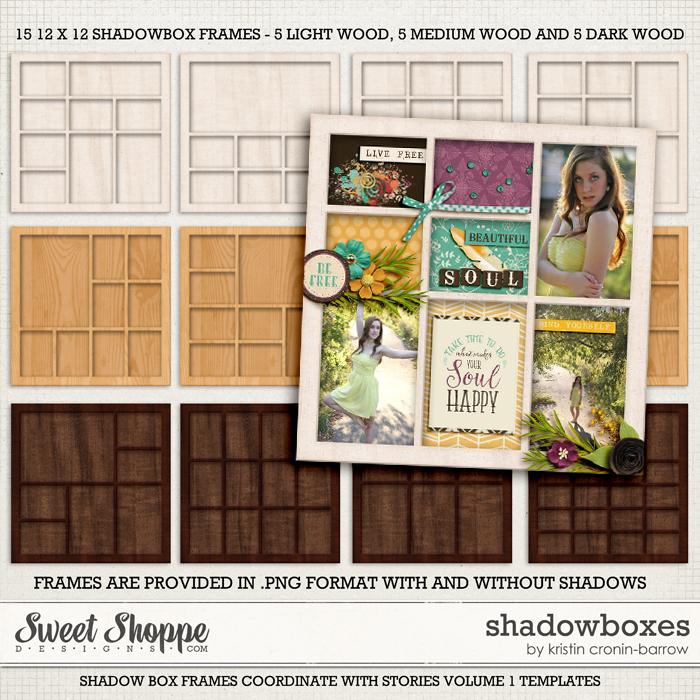 Shadowboxes: By Kristin Cronin-barrow
