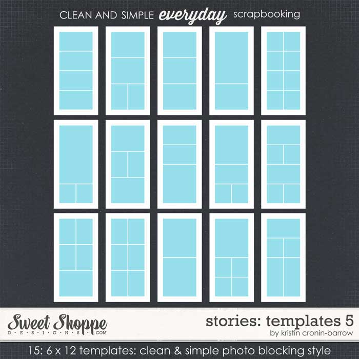 Stories: Templates 5 by Kristin Cronin-Barrow